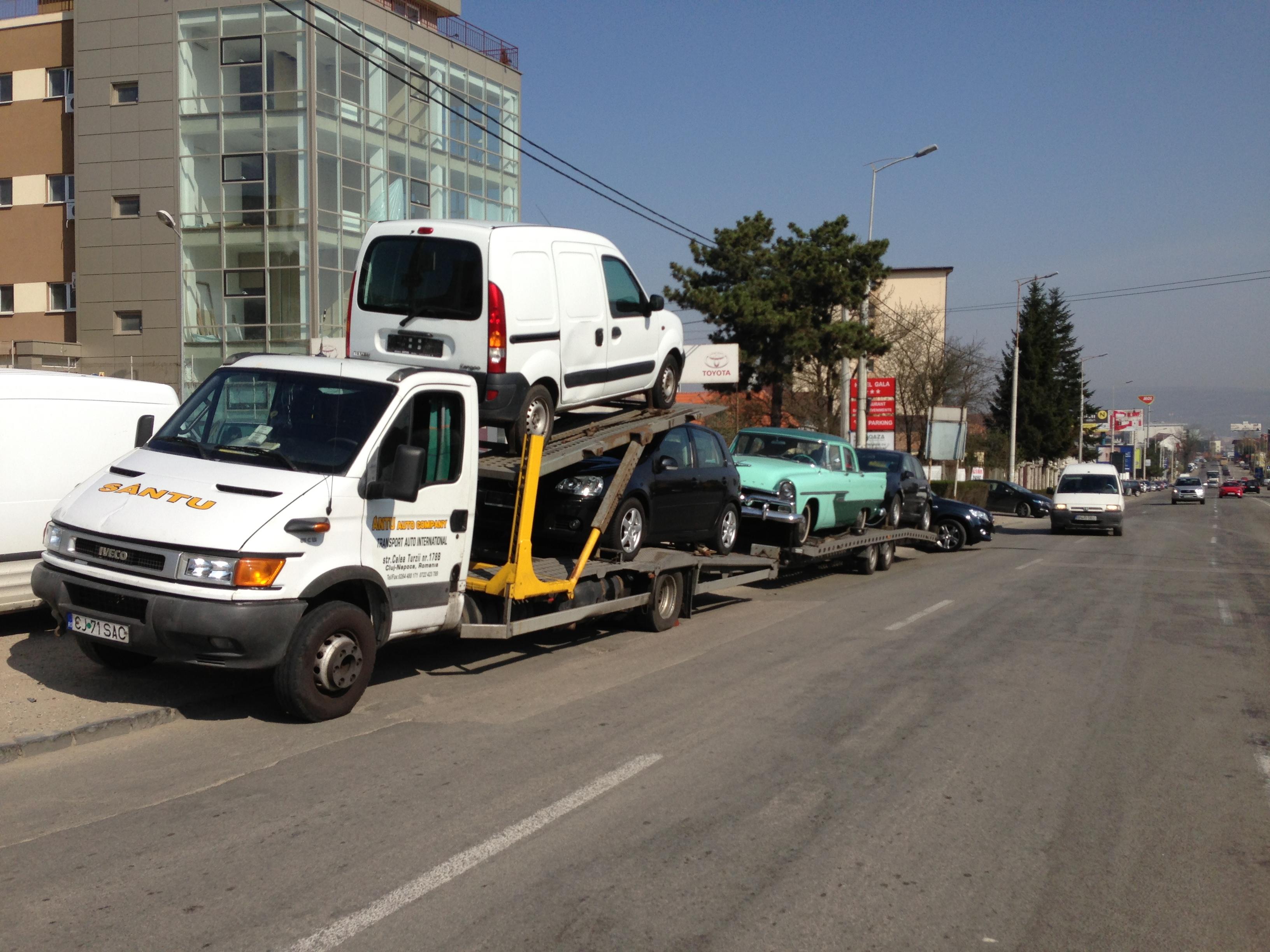 Transport  regim de grupaj sau complet