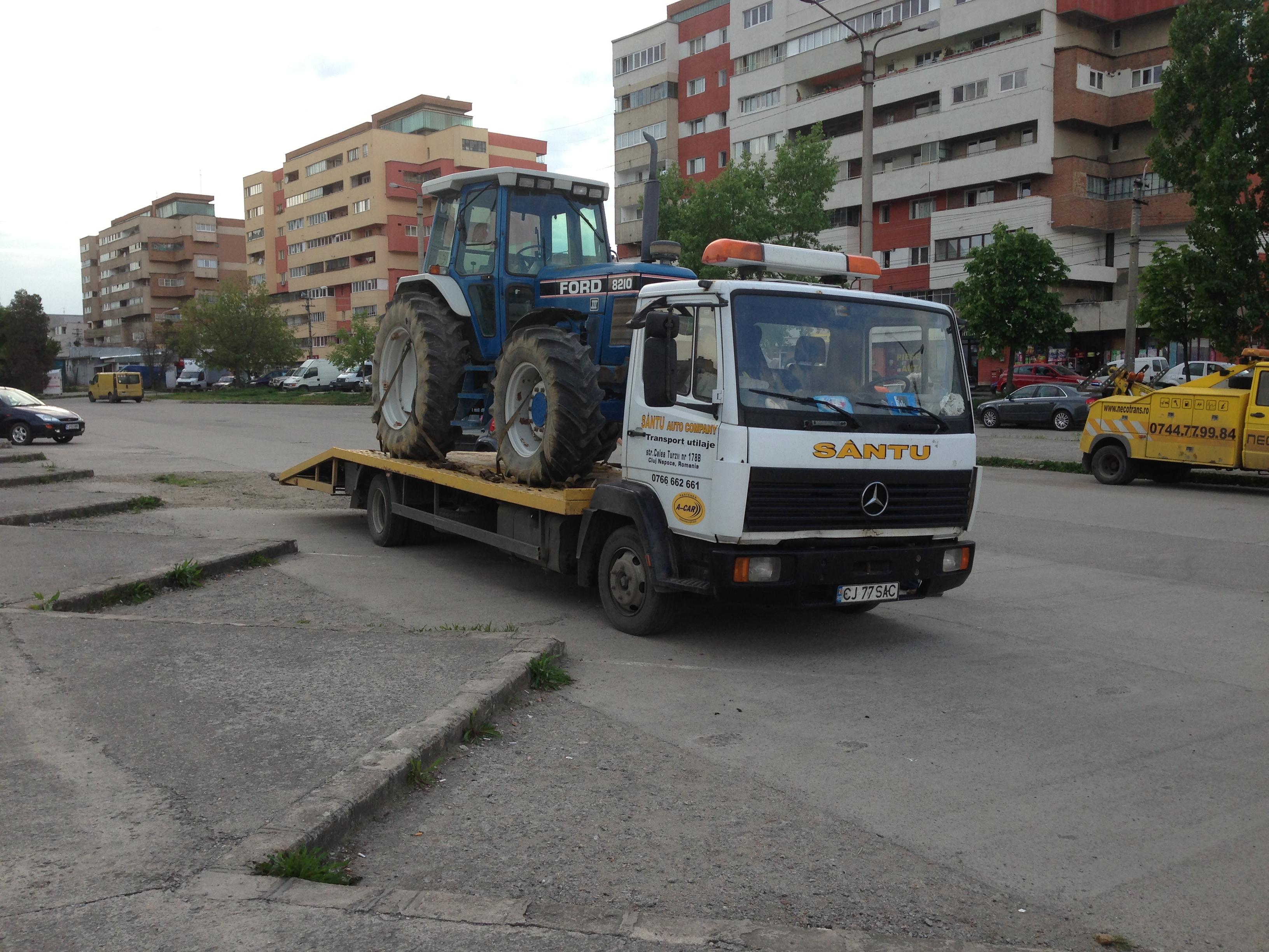 Transport utilaje agricole Maramureș