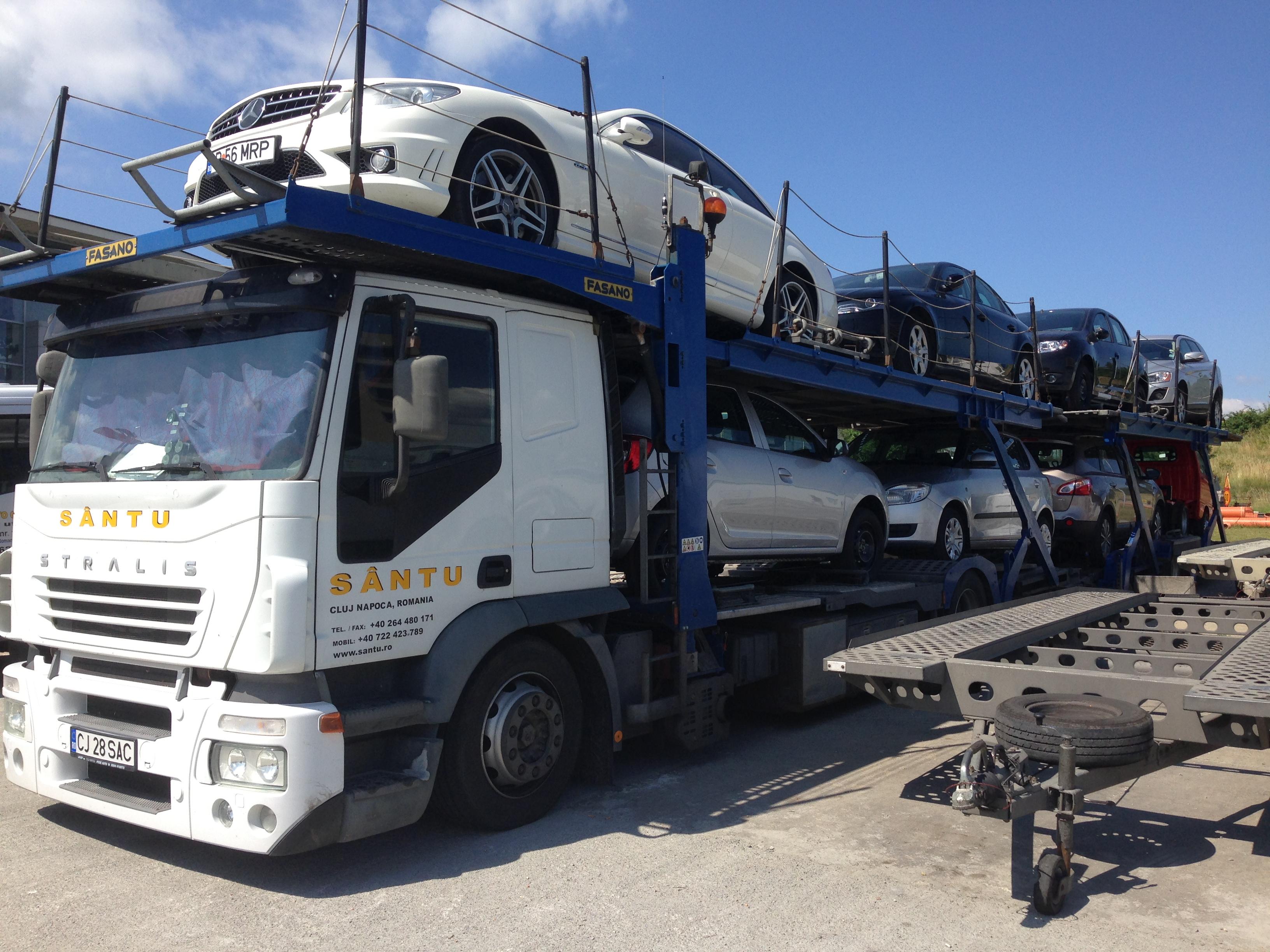 Transport internațional mașini în Germania