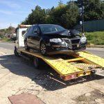 Tractări mașini lovite Cluj