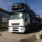 Transport internațional mașini noi
