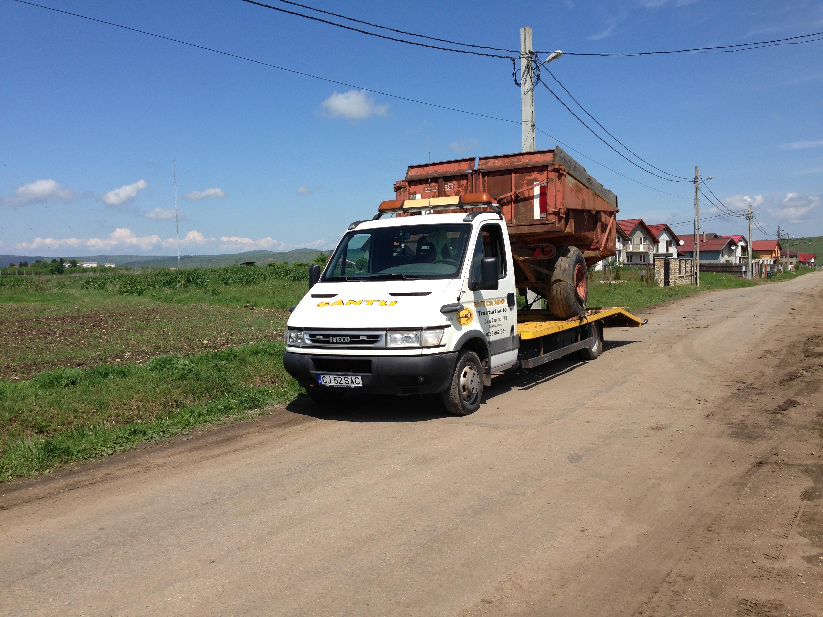 Transport utilaje agricole Alba