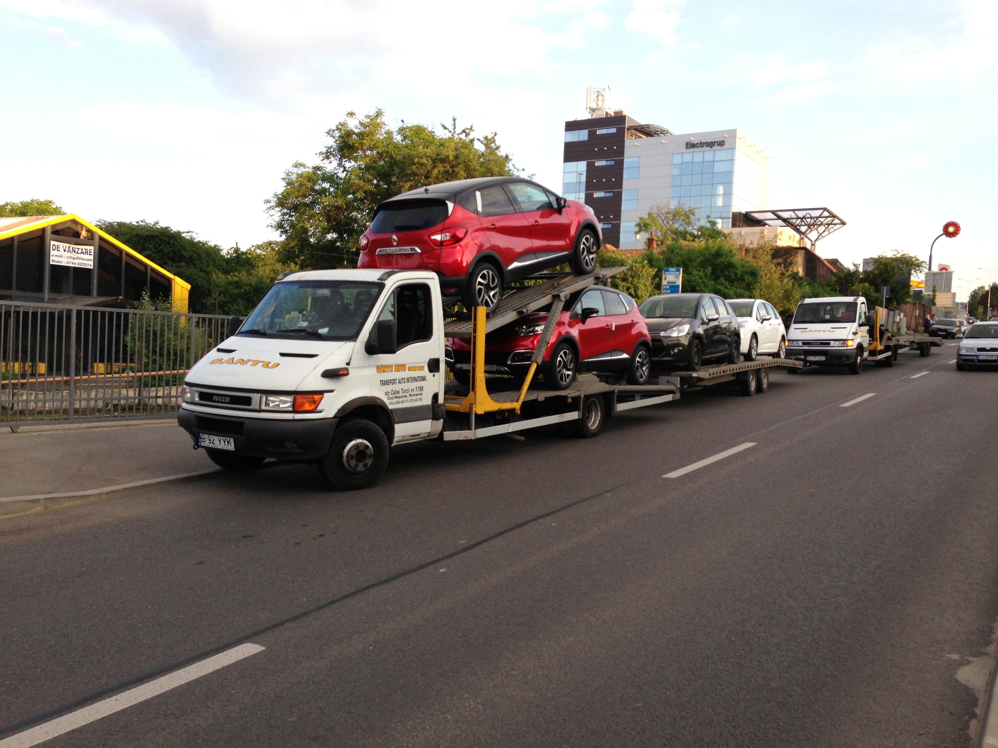 Transport internațional mașini în Belgia