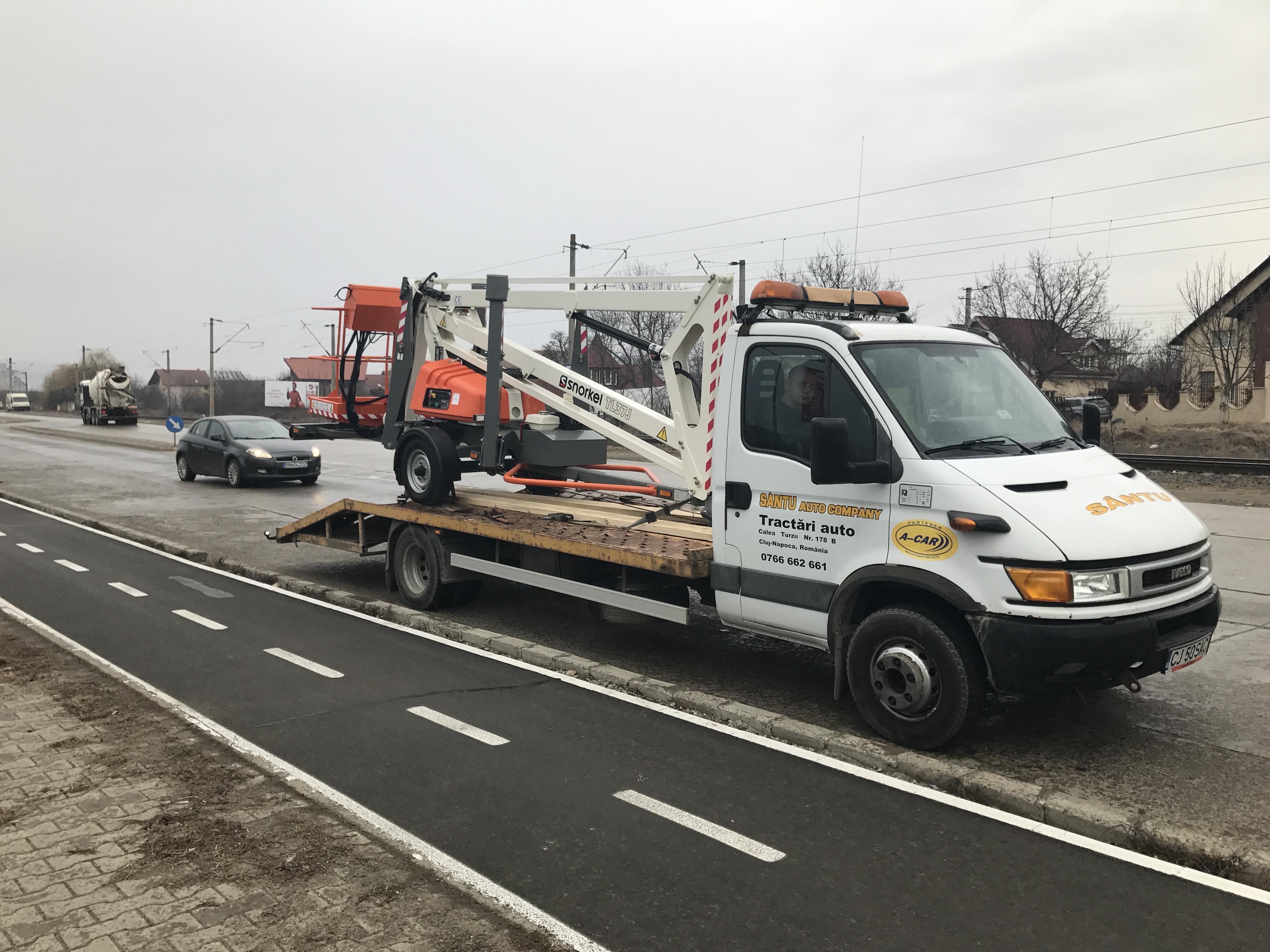 Transport utilaje agricole Sălaj