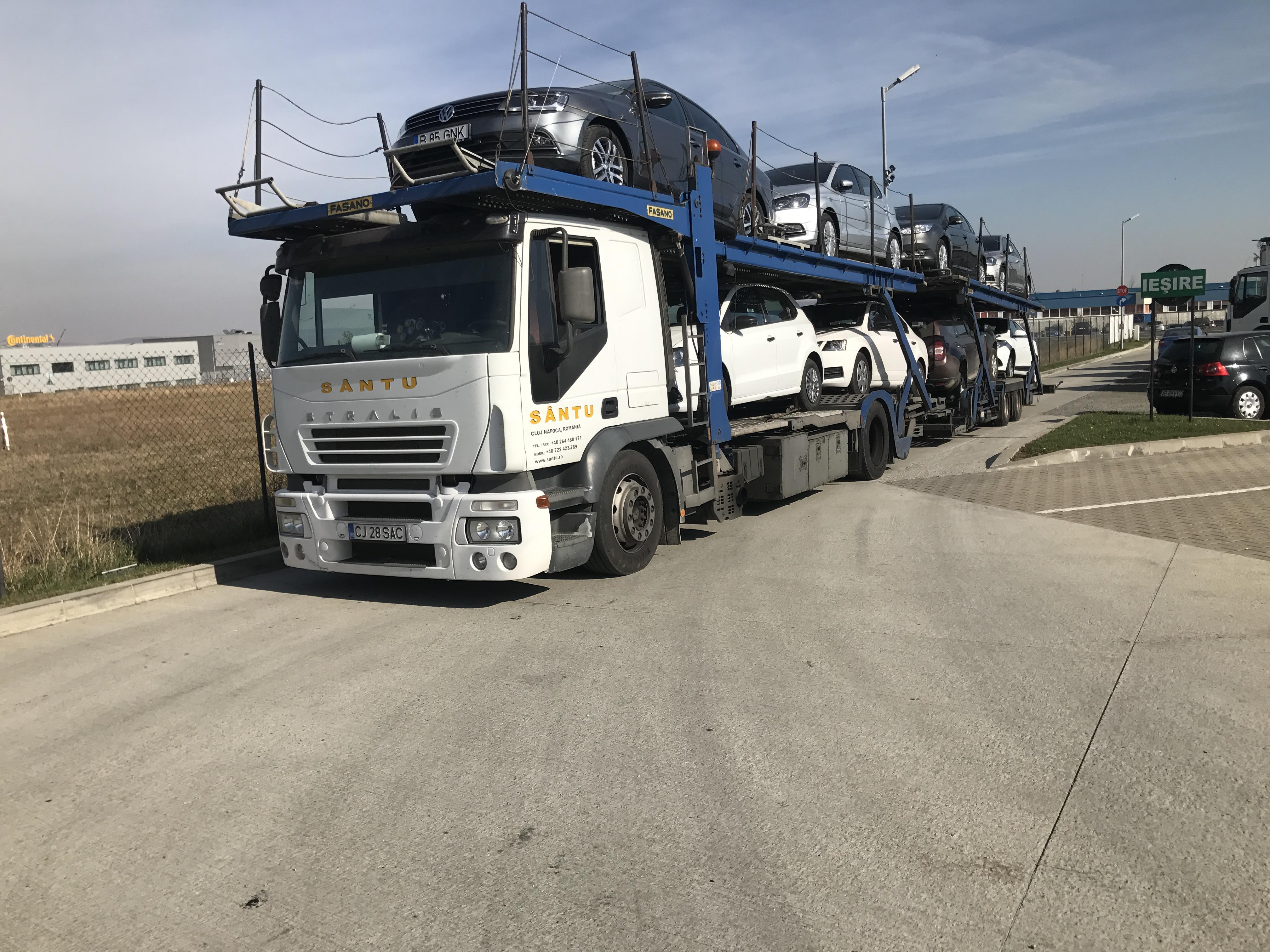 Transport internațional mașini în Ungaria